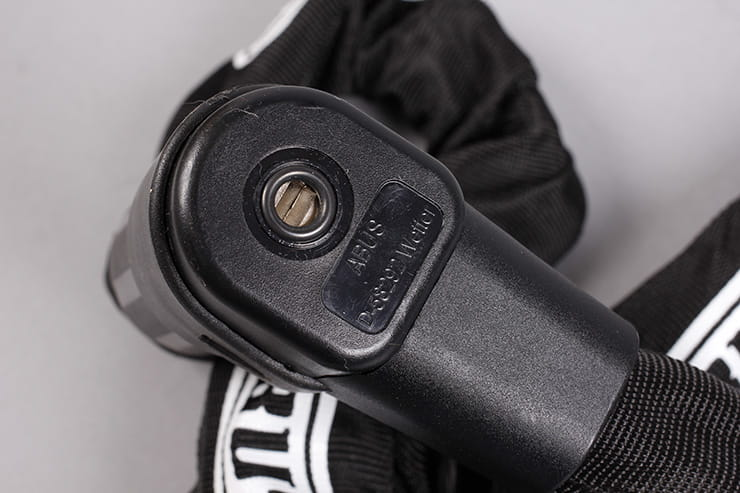 Abus City Chain 1010 keyhole