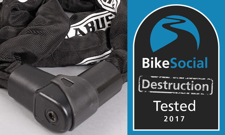 Abus City Chain 1010 BikeSocial destruction tested
