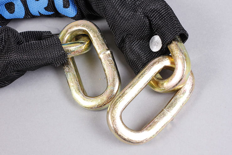 Oxford HD chain and padlock chain links