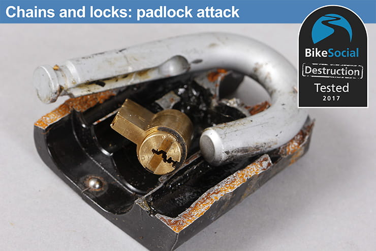 Tested: Squire Juggernaut with SS65CS padlock review after a padlock attack