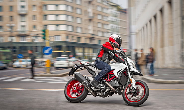 Ducati Hypermotard gets a new coat of paint for 2018