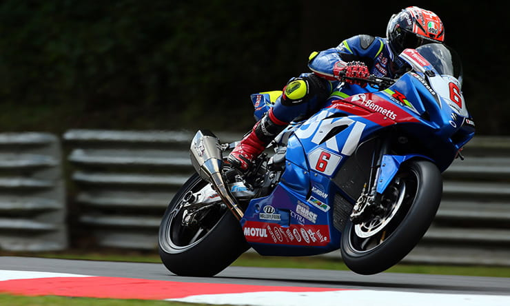 Taylor MacKenzie and his BSB bike will be at Silverstone