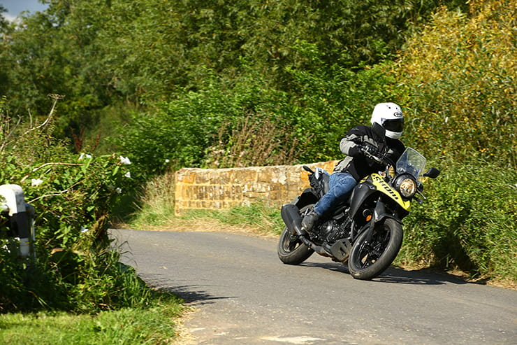 BikeSocial sent John Urry to the UK launch of the Suzuki V-Strom 250