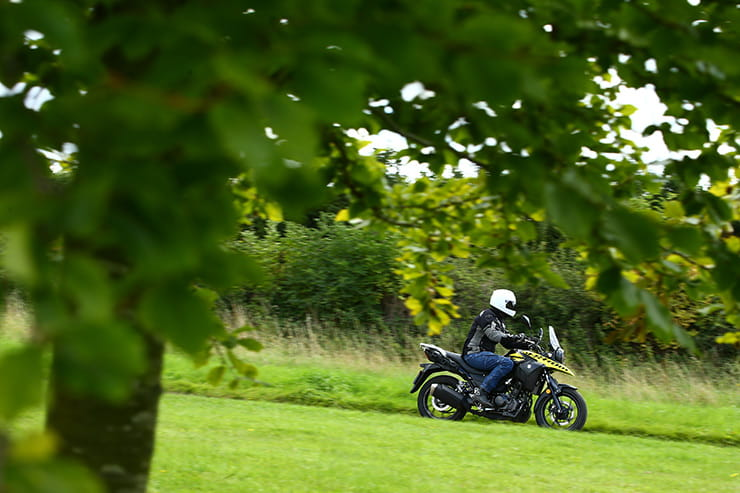 Suzuki V-Strom 250 ridden on the UK launch