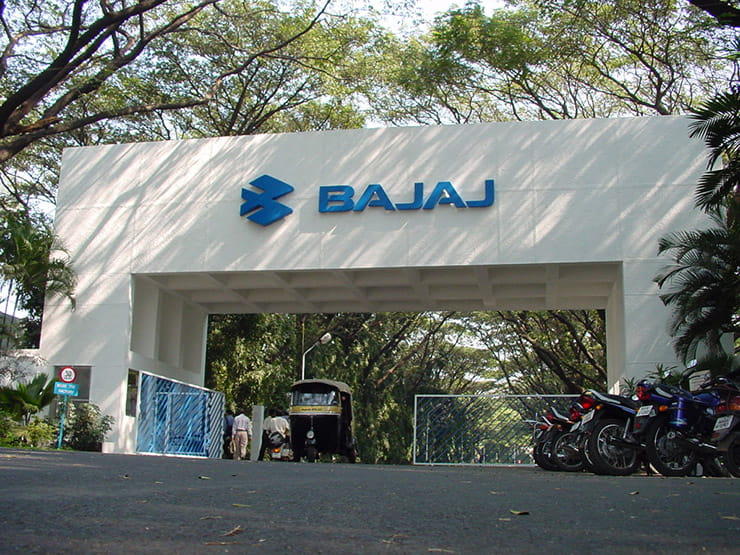 The Bajaj factory in India