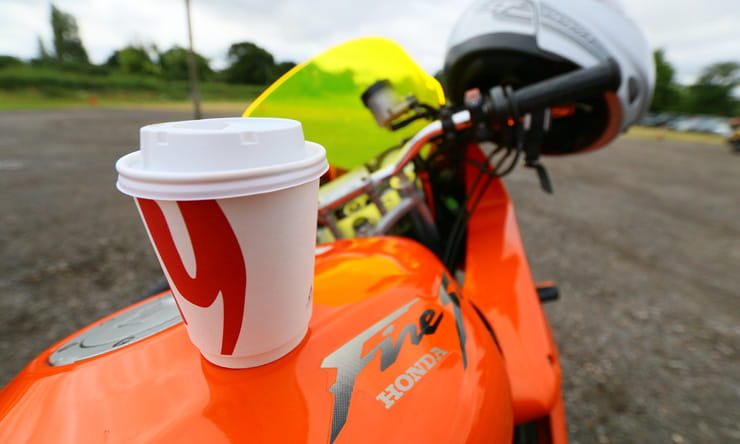 Honda VTR1000 FireStorm: 20th Anniversary Owners' Meet with morning coffee
