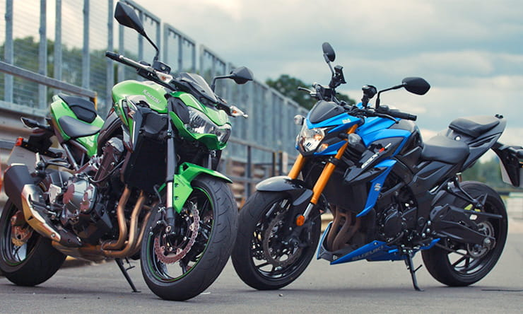 Suzuki Gsx S750 Vs Kawasaki Z900 Uk Review