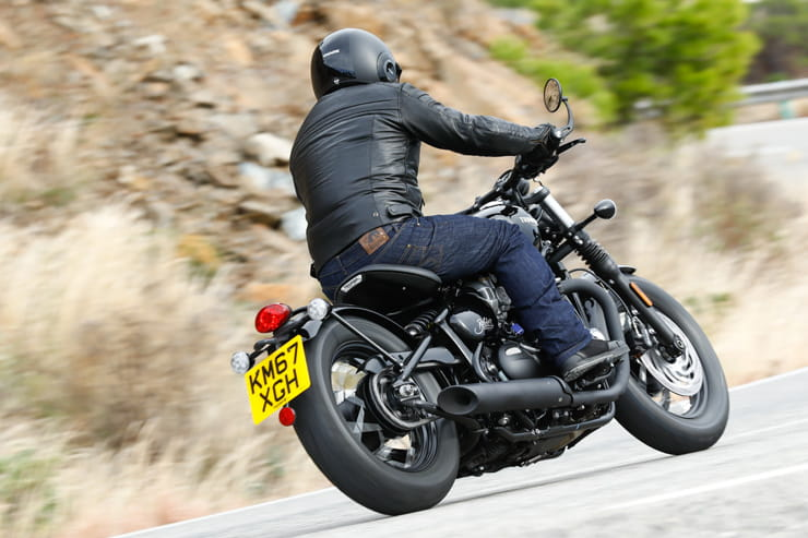Triumph Bobber Black 2018 BikeSocial Review