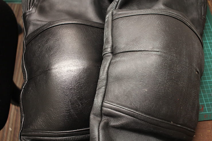 How to repair motorcycle leathers