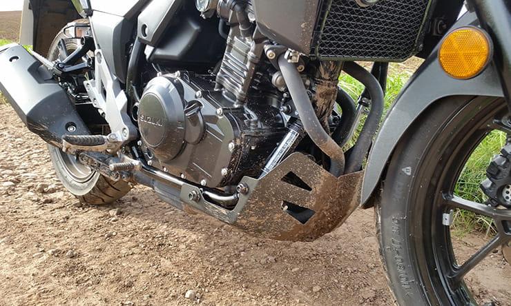 Kit adesivi decal stikers V-STROM 650 2004 2011 WORLD MOD.B GRAY MOTO