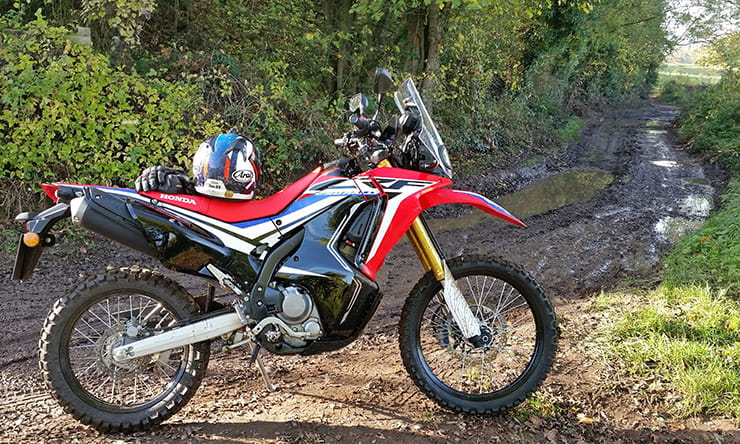 2017 Honda CRF205 Rally review