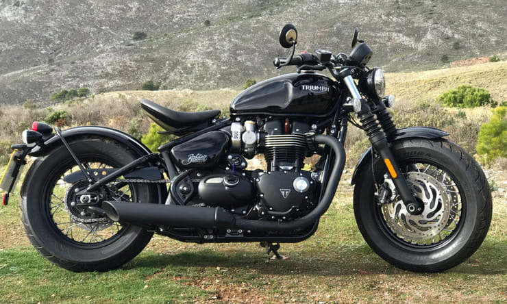 Triumph Bobber Black 2018 BikeSocial Review1