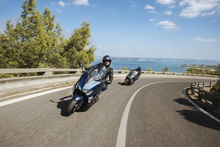Yamaha TMAX DX BikeSocial Review