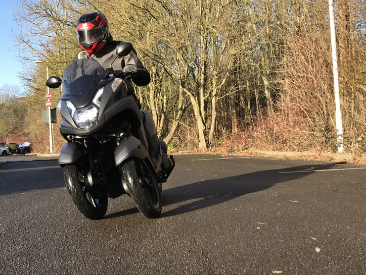 Yamaha Tricity 125 BikeSocial Review