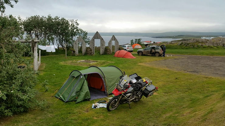 Wild-camping in Iceland