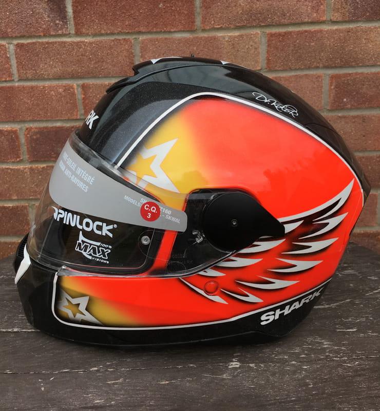 Inside The British Motorcycle Industry The Fine Art Of Custom Helmet Design