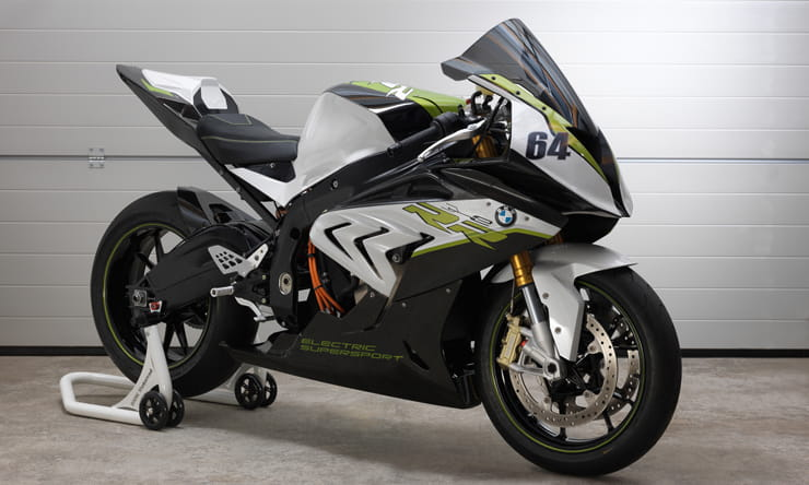 BMW S1000RR electric bike