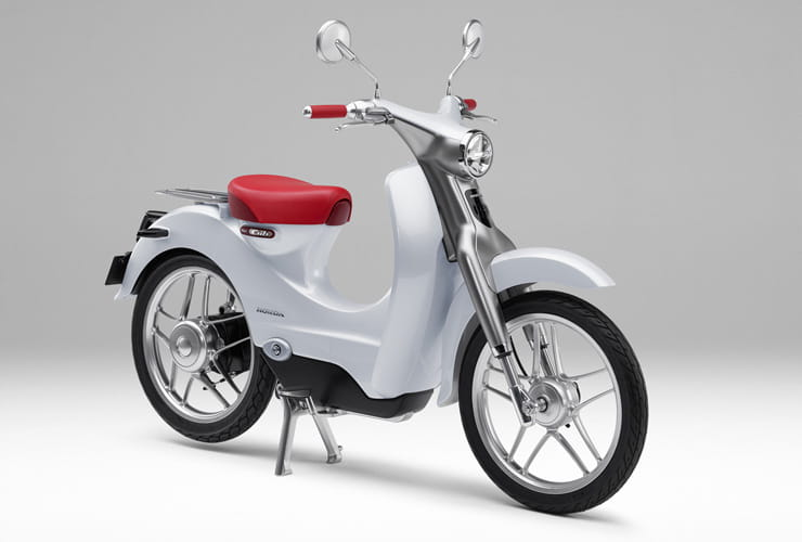 Honda EV Cub electric Motorcycle