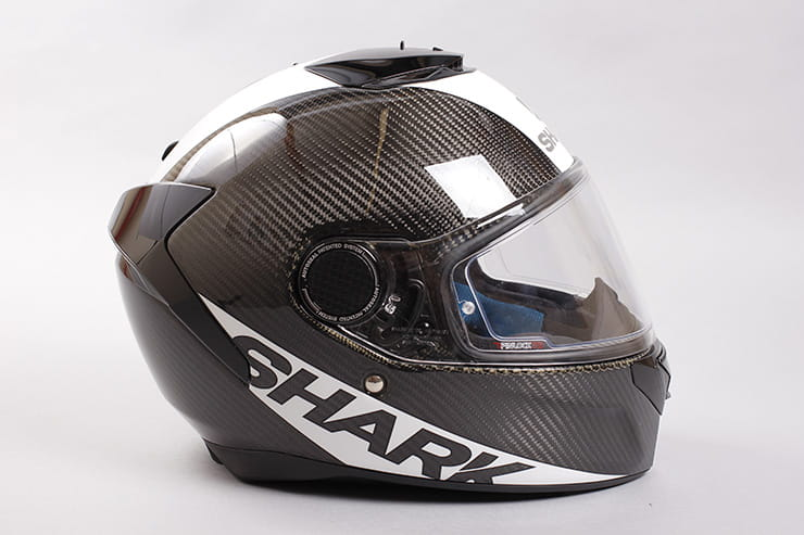 Tested: Shark Spartan helmet review side view