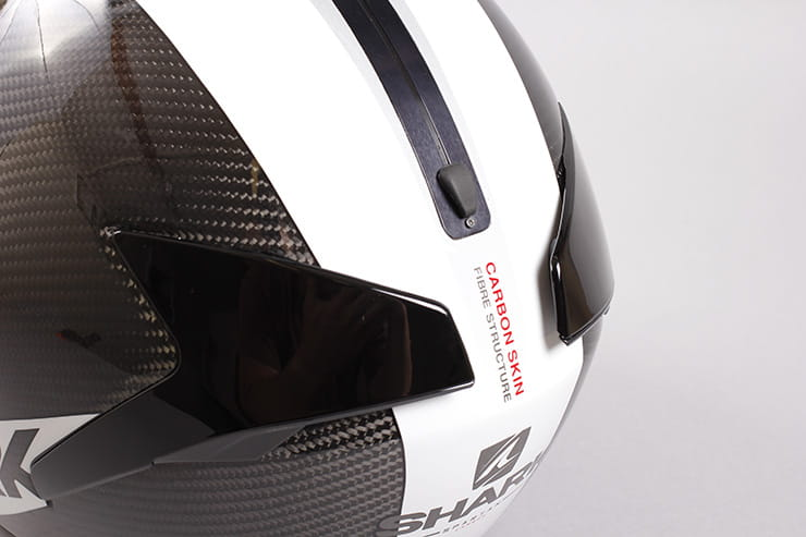 Tested: Shark Spartan helmet review rear vents