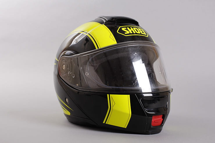 Shoei Neotec front right view