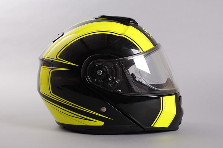 Shoei Neotec right side view