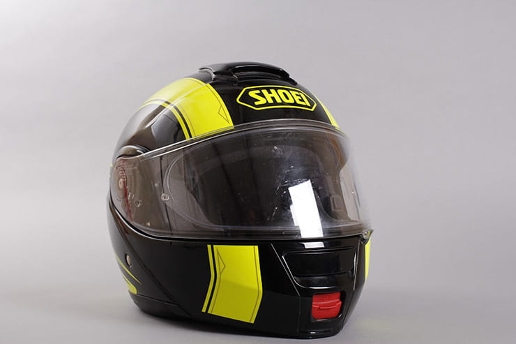 Shoei Neotec front closed