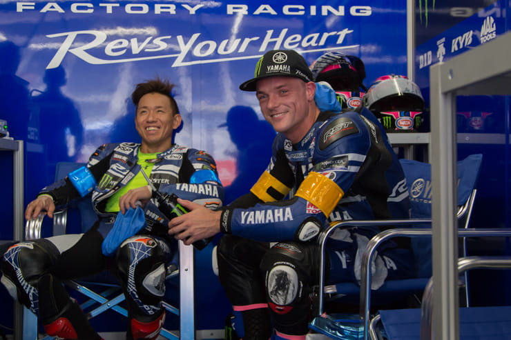 Alex Lowes races for Yamaha at the Suzuka 8 hours endurance race