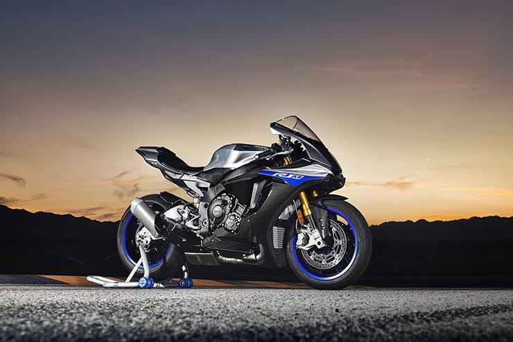 2018 Yamaha R1 and R1M