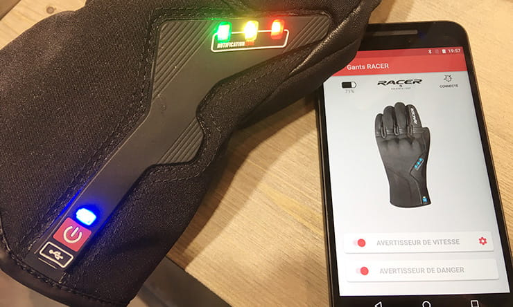 Connected gloves