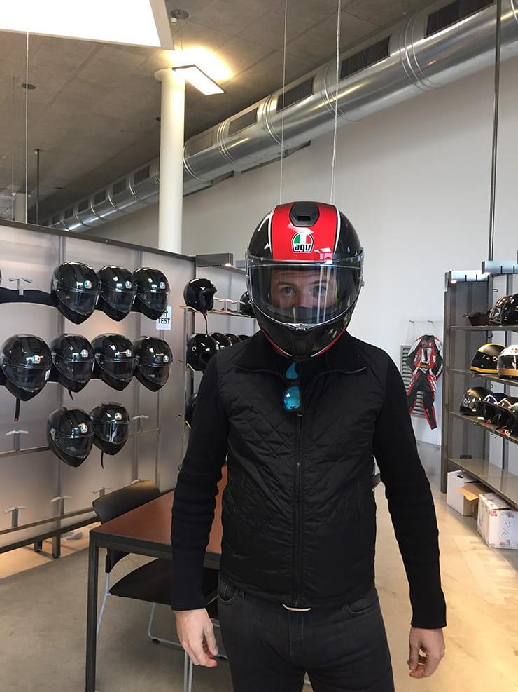Official Agv Sportmodular Stunning New Full Carbon Flip Front Helmet Eicma 2017