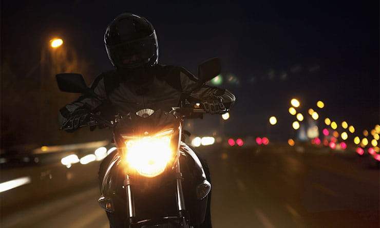 Tips on riding at night