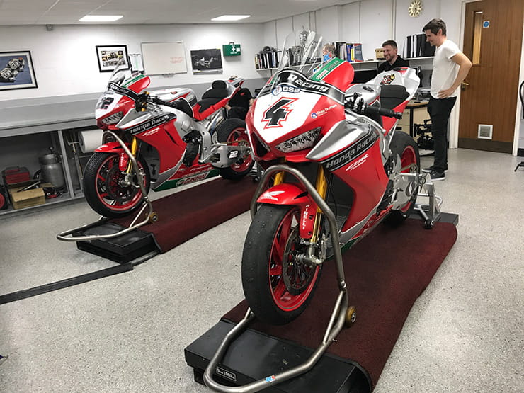 Honda Fireblade: from dealership to BSB winner