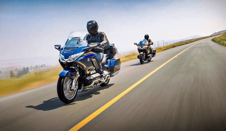 2018 Honda Goldwing Pictures