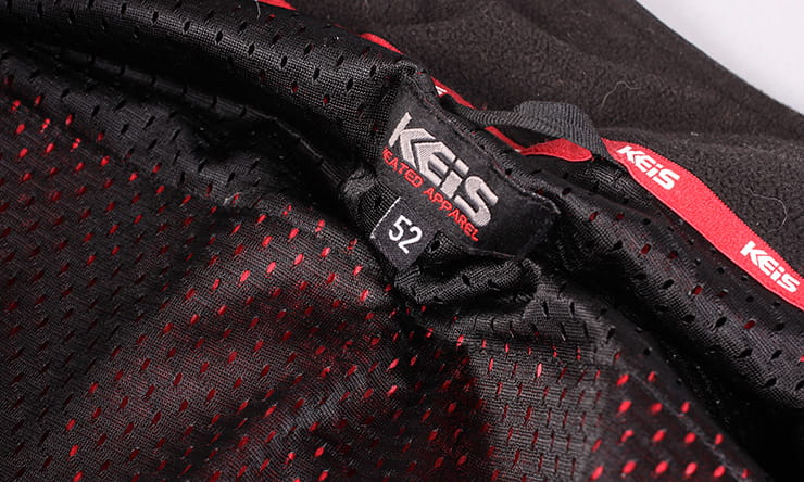 Keis X25 heated jacket BikeSocial Review