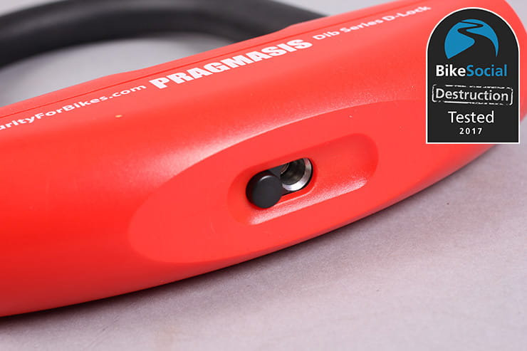 Pragmasis Protector 13mm chain with DIB-130 U-lock BikeSocial review