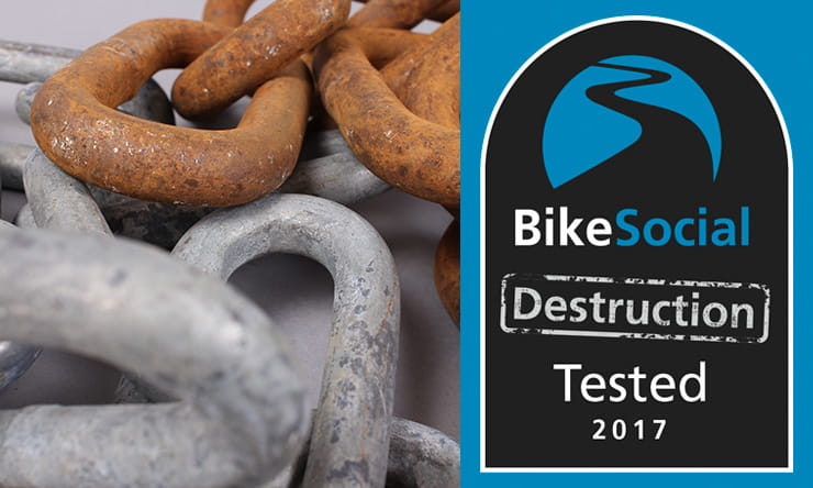 Should you use anchor chain to secure my bike, BikeSocial tests