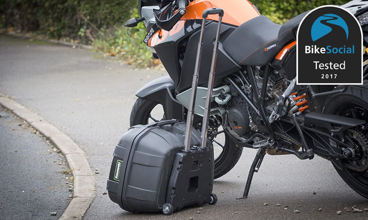 Tested: Givi S410 Universal Trolley Monokey Plate BikeSocial review