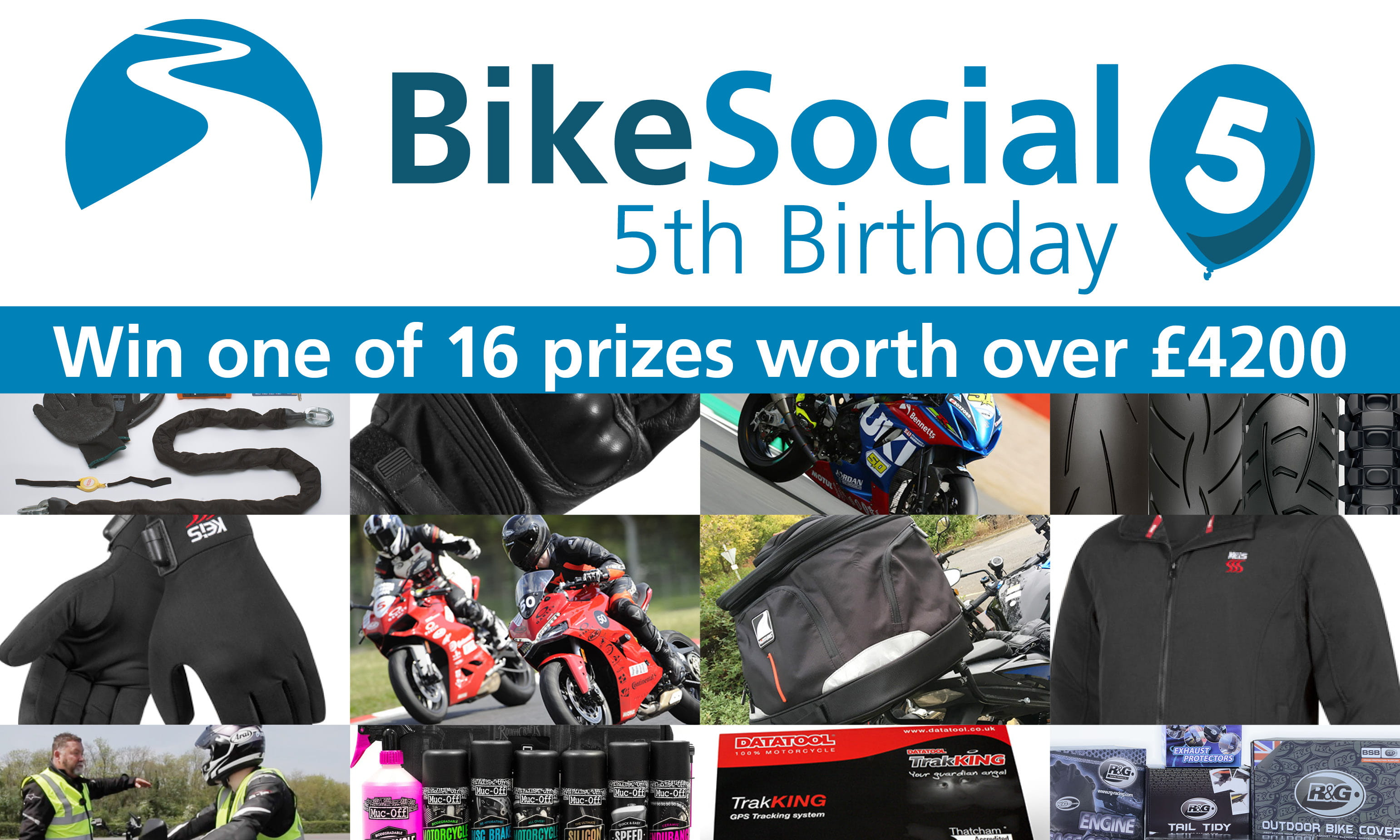 Win motorcycle prizes