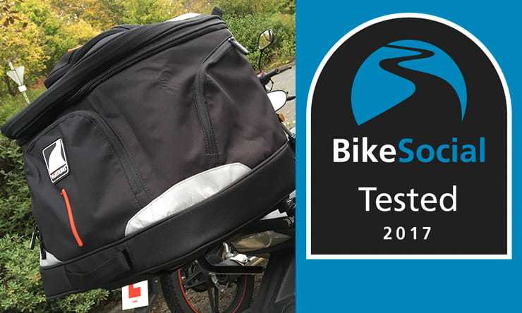 BikeSocial tests the Ventura Evo10 Luggage System