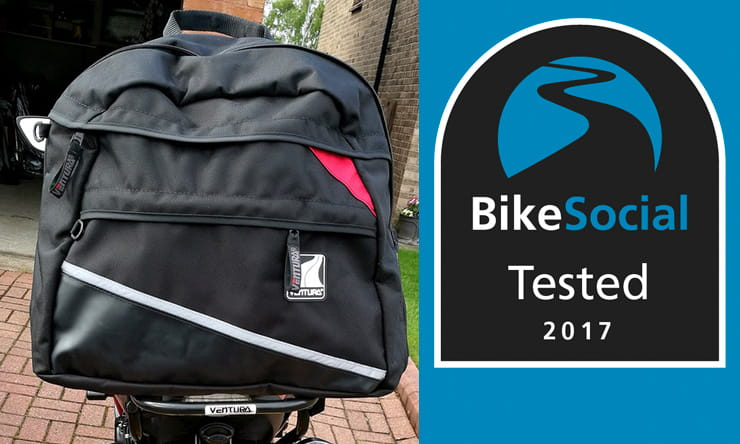 Ventura luggage BikeSocial review