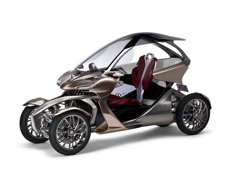 Yamaha's Tokyo Motor Show concepts look way into the future