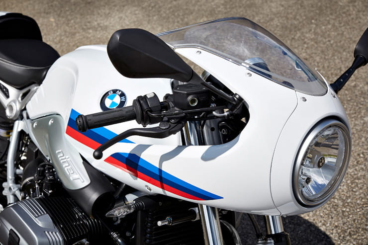 BMW 2017 R NineT Racer nose cone and headlight