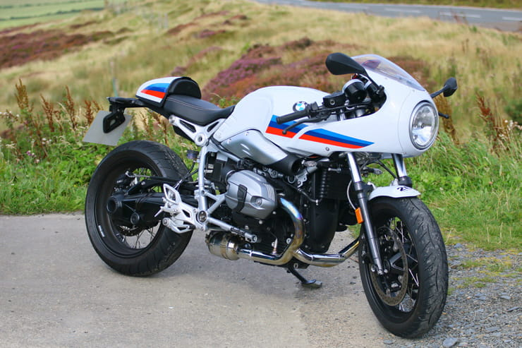 BMW 2017 R NineT Racer tested by BikeSocial