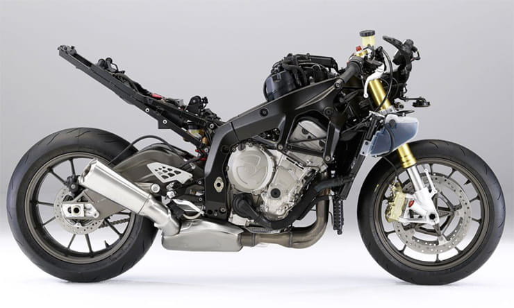 BMW S1000R Without Bodywork