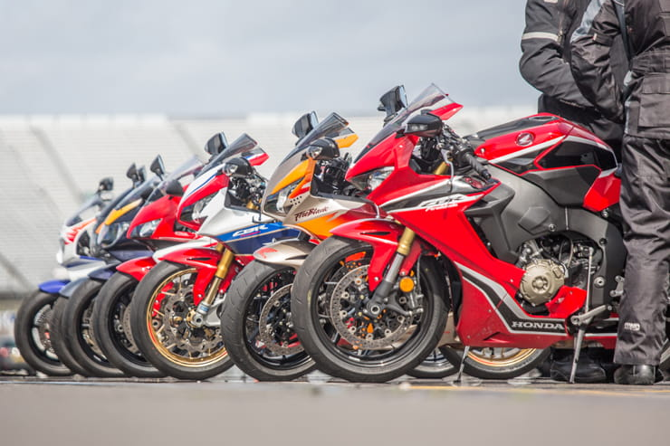 Honda Fireblade 25th Birthday