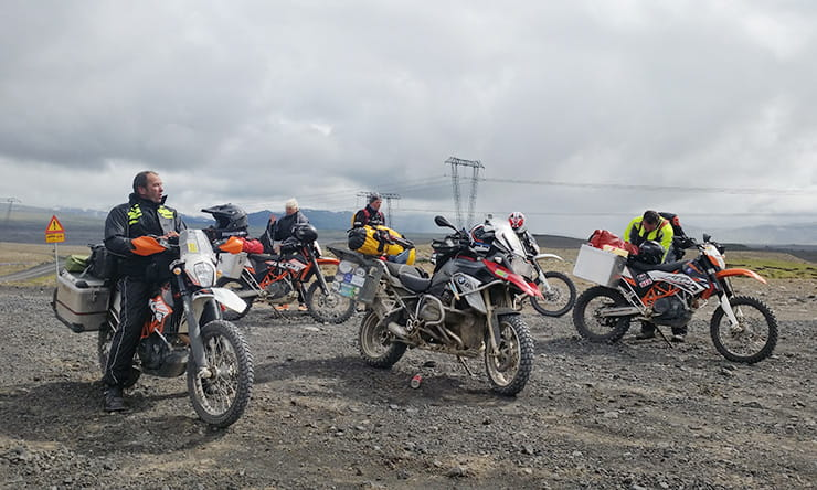 Iceland is a perfect place for a group of trail riders