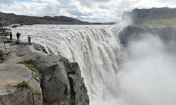 Dettifoss waterfall, one of the highlights