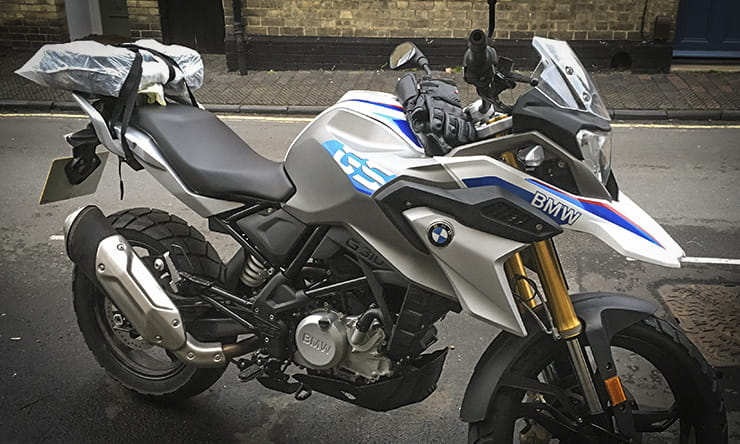BMW G310GS blog: Can it handle motorways?