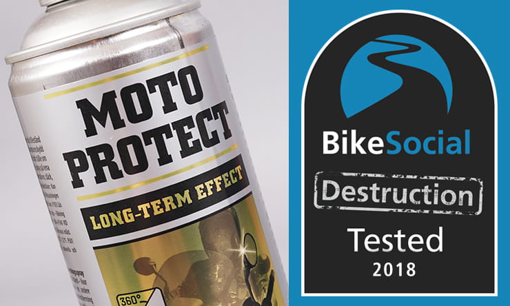 Tested: Motorex Moto Protect corrosion protectant review